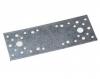 Пластина крепежная 120*40*2 мм, оцинк.