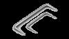 Скоба строительная 8*250 мм